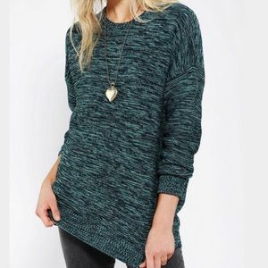 BDG Urban Outfitters Oversized Teal Sweater Size M